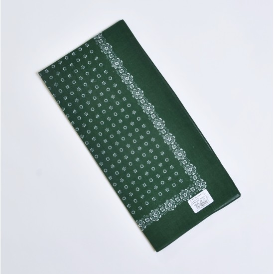 ŠATKA - na krk alebo tvár 03 zelená