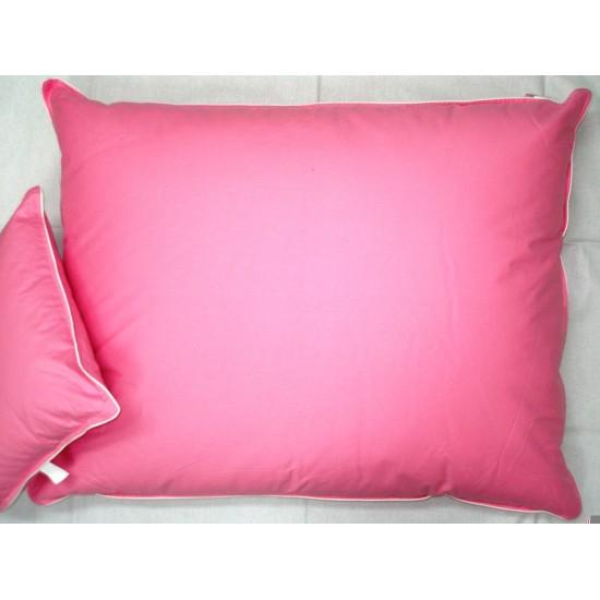 Vankúš perie 70x90 ružový