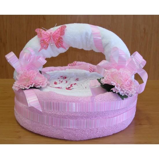 Košík Detský ružový