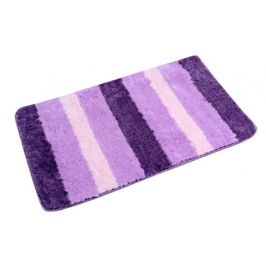 Kúpeľňová predložka OMBRE fialová