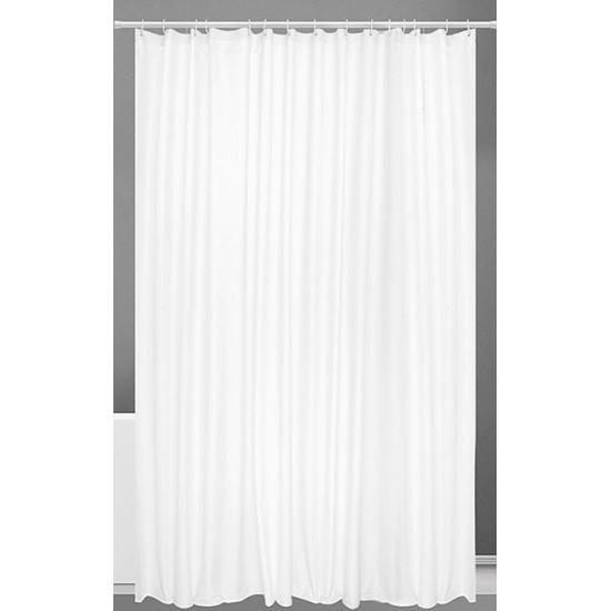 Kúpeľňový záves PES biely