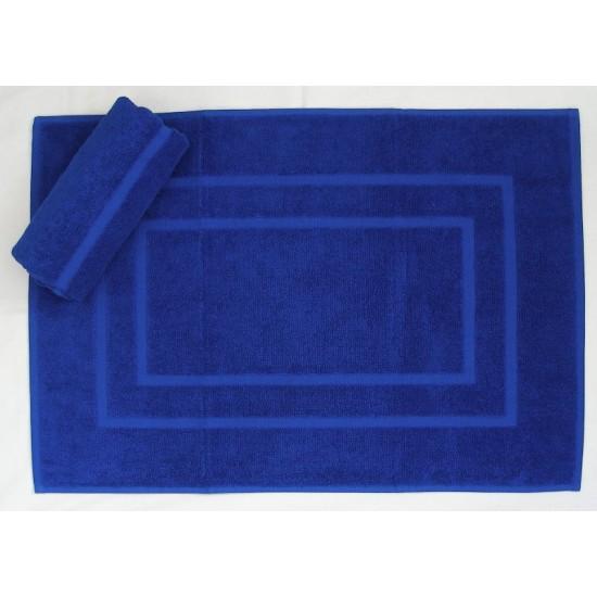 Kúpeľňová predložka froté EMA parížská modrá