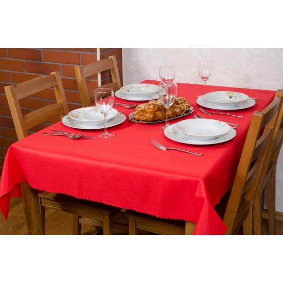 Obrus Teflon 120x160 01 červený