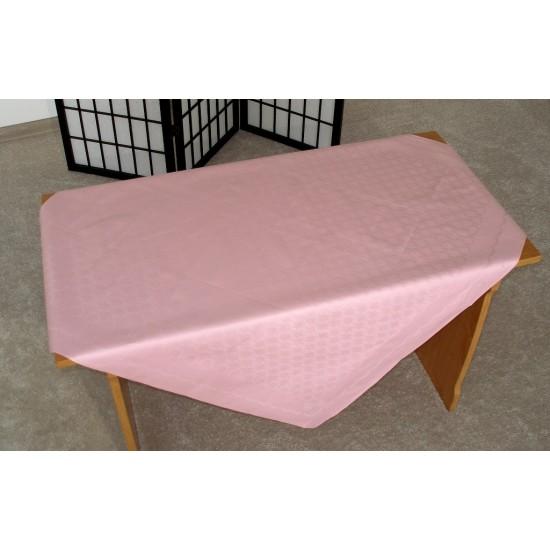 Obrus ALLEGO - celoročný 98X100 ružový