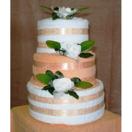 Torta veľká Ema biela