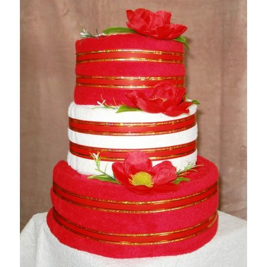 Torta veľká Ema červená